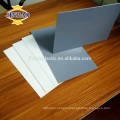 JINBAO ivory grey white 5mm Rigid PVC sheet for table