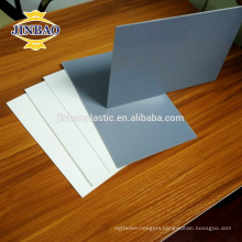 JINBAO pvc material grey 8mm 5mm acid and alkali resistant rigid pvc