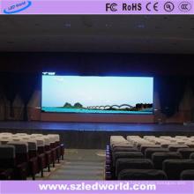 Mur visuel polychrome d'intérieur de location de P4.81 LED pour la publicité