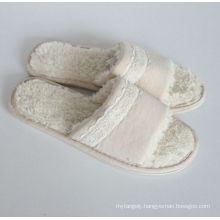 Jersey with Lace for Indoor Slippers with Women′s