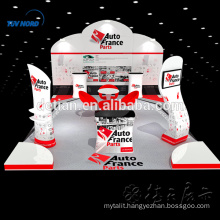 Cheapest Exhibition stand displays standard trade show booth tension fabric show