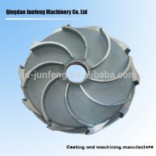Turbine de pompe à eau de précision en acier