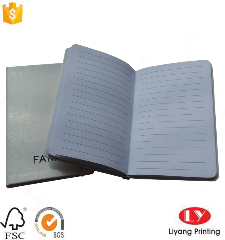 PU notebook with offset printing