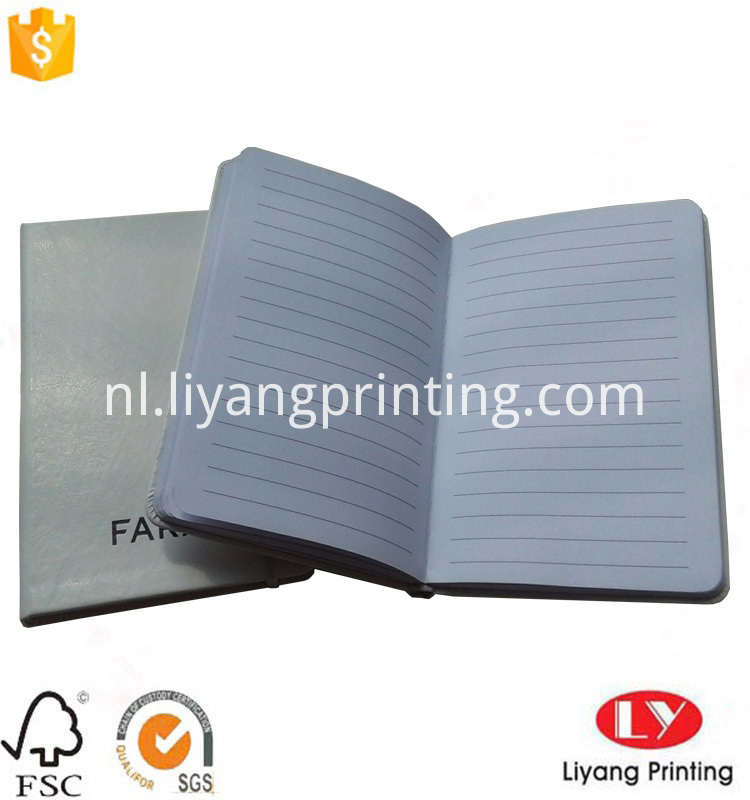 PU notebook hardcover