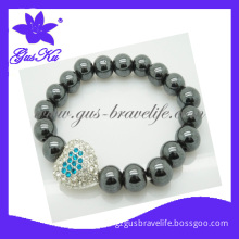 2013 Gus-Htb-010 Fashion and Health Care Magnetic Lariat Jewellery with Plastic Bead as Bracelets or Necklace for Women