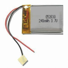 240mAh Li-Polymer Battery (CE RoHS Approved)