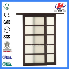JHK- Tempered Glass Bathroom Sliding Shower Door