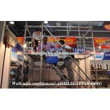 Système d'échafaudage d'échafaudage de construction d'échafaudage de bâtiment, échafaudage utilisé à vendre