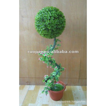 Artificial Grass Ball Bonsai For Garden Decoration, Artificial Plant