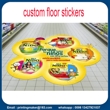 Custom Sticker Lantai 3D Printing