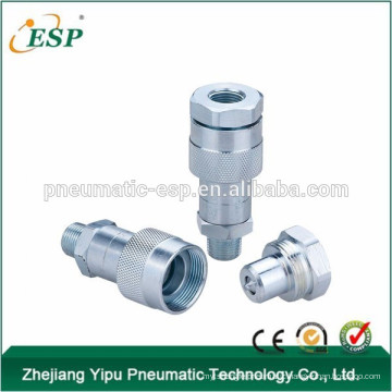 KZE close type hydraulic and air compressor coupling(steel )