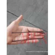 Tissu en acier et agrafes SOD