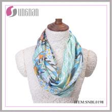 2016 neueste ethische und Vintage frische Baumwolle Infinity Schal (SNBL0198)