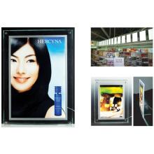 Ultra Slim Acrylic Crystal Light Box LED Display