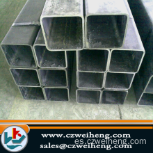 Stock de tubo de acero 40X40Square con The