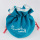 China Factory Round velvet pouch bag with drawstring