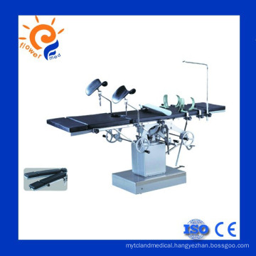 Hospital equipment hydraulic operation table for OT room