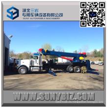Heavy Duty 50 Ton corredizo Rotator Tow Truck superior del cuerpo
