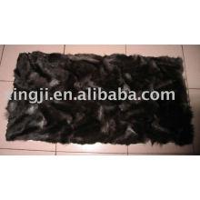 Plaque de ferraille de renard argenté