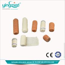 Atadura elástica médica do Spandex do algodão