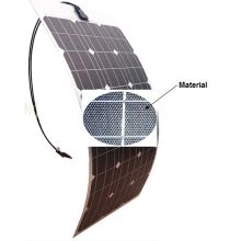 Weiches flexibles Sonnenkollektor-Modul 18V 80W ETFE Sunpower