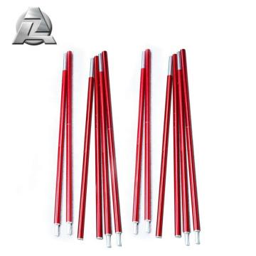 Venta al por mayor serie 7001 anodizado aluminio carpa piezas de poste