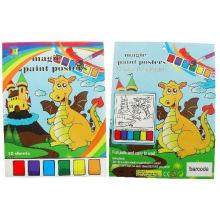 Criação de livros coloridos personalizados para crianças com lápis de cor
