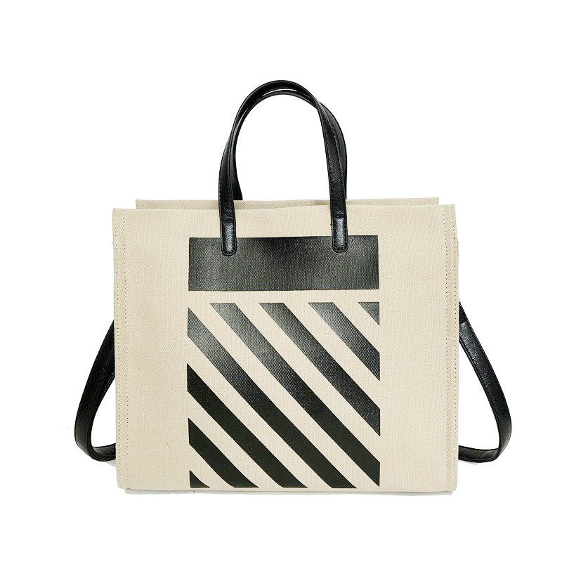 Canvas Bag With Zipper