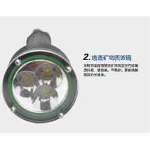 Lampes de poche tactiles marteau d'urgence la plus puissante lampe de poche rechargeable XM-L2 cree hunting police