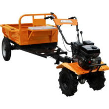 6.5HP mini tractor with trailer for paddy field