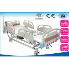 Mobile ICU Hospital Beds , 5 In 1 Electric Patient Bed With