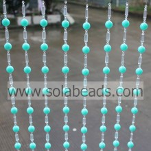 100% Original for Wedding Beaded Garland Curtain Trimming 18MM&18MM&6MM Wire Crystal Plastic Beading Garland String supply to Hungary Supplier
