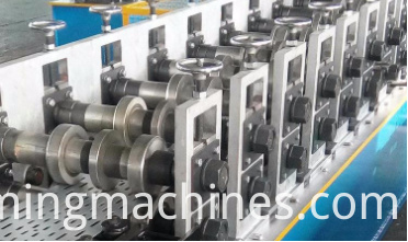 main part of cable tray machine