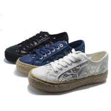 Twine Espadrilles Lace Casual Women Men School Ladies Elevator Shoes