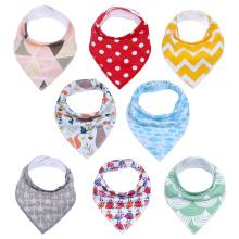 100% cotton super absorbent baby bandana drool bibs baby bandana bibs baby bibs bandana