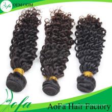 Extension 100% de cheveux humains, perruque de cheveux humains, trame de cheveux de Remy de Vierge
