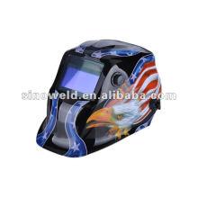 Capacete de soldagem auto-escurecimento solar MD0407