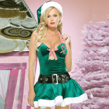 New Style Festival Fashionable Women Babydoll Green Sexy Lingerie