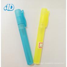 Bouteille de flacon de parfum de jet de plastiques de la couleur L1 10ml