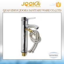 Grifo de agua de lavabo de vidrio de diseño redondo