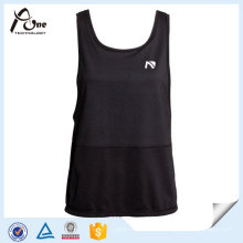 Sexy Mulheres Running Tank Top Mulheres Singlet com sutiã
