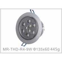 Plafonnier de l'intense luminosité LED de 9W