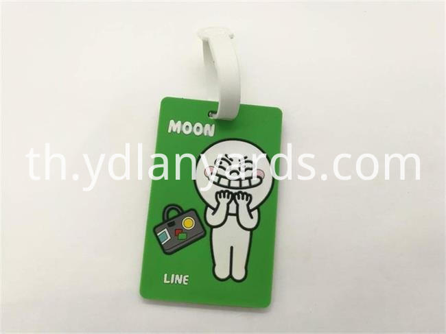 Cute Soft PVC Luggage Tag