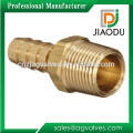 JD-1002 Brass Male Fittings With Hose Barb