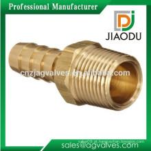 JD-1002 latão macho acessórios com mangueira Barb