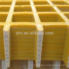 FRP Rejilla / Rejilla de plástico reforzado con fibra / Rejilla de fibra de vidrio