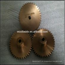 Latão micro precisão usinado latão peças, cnc cobre produto peças