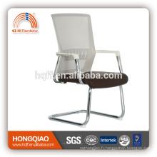 CV-B213BSW-1 base en métal chromé fixe accoudoir en nylon visiteur chaise chaise de bureau