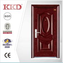 Luxus Stahl Sicherheit Tür KKD-205 mit 3D Stahlverkleidung und konvex aus China Herstellung