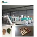 Máquina de inyección del molde del palillo del animal doméstico de la materia prima que muele